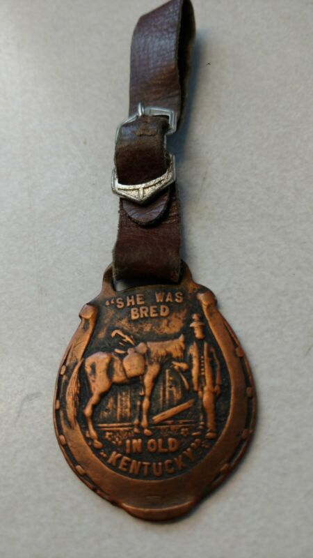 She was bred in old Kentucky Adv. Horse Watch Fob US Marine Hospital Service