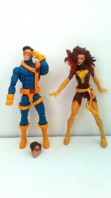 Marvel Legends TRU X-MEN Dark Phoenix 2 pk + Jim Lee Cyclops with bonus head