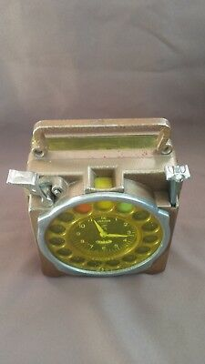 Vintage Junior Natural Pigeon Racing Timing Clock From 1950's