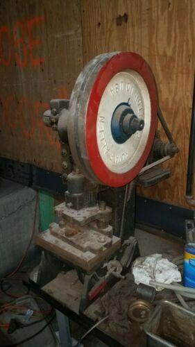 5 Ton Alva F Allen Model BT5 Benchtop Punch Press