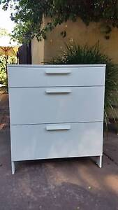 WHITE CHEST OF DRAWERS Nedlands Nedlands Area Preview