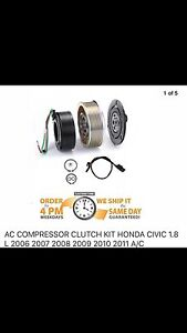 AC compressor clutch kits Civic new in box 2006-7-8-9-10-11