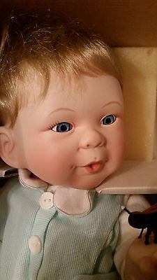 "Ashton-Drake Galleries ""Andrew"" Babies' World of Wonder Doll WITH LIGHTNING BUG"