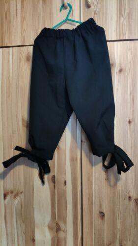 schwarze Hose für Kinder-Karnevalskostüm Größe 116 König Pirat etc. sehr gut