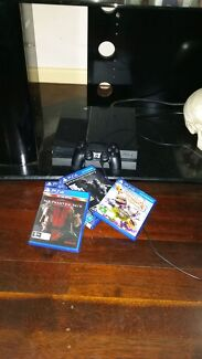 Ps4 near new with all accessories and 5 games  Driver Palmerston Area Preview