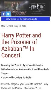 Tickets to Harry Potter Prisoner of Azkaban live in Orchestra