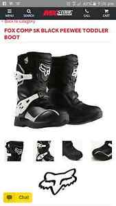 WANTED KIDS MOTOCROSS BOOTS Fairy Meadow Wollongong Area Preview