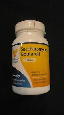 The Vitamin Shoppe Saccharomyces Boulardii 5 Billion 90 Veggie Capsules