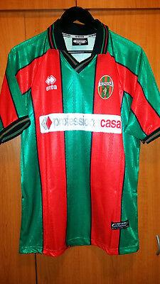 trikot Fußball Ternana Calcio Italy 2000 errea L grun rot  image