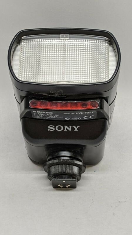 Sony HVL-F32X Shoe Mount Flash Works