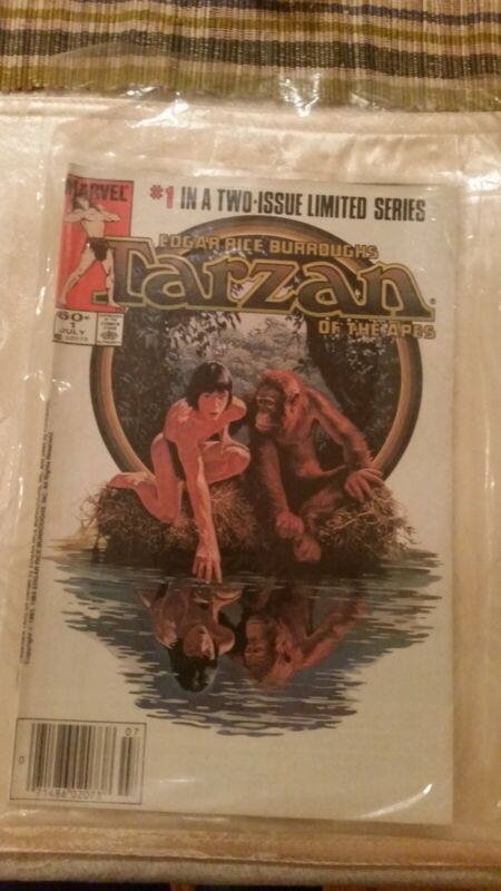 TARZAN of the APES COMIC 1984 vol 1 # 1 TWO ISSUE LIMITED SERIES VF