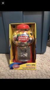 New Dubble Bubble Gumball Machine Bank!