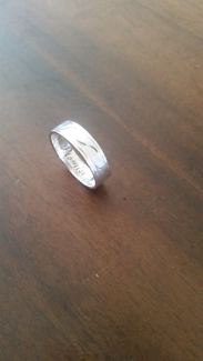 Sterling silver mans ring