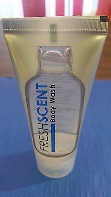 1 Ounce Amenity Bottle (BODY WASH TUBES 1 oz FRESH SCENT ( 50 BOTTLES ) TRAVEL SIZE AMENITIES/NEW)