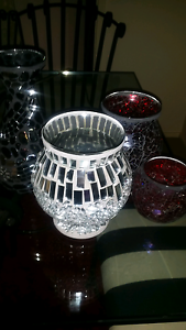 Assorted mosaic candle holders Blair Athol Campbelltown Area Preview