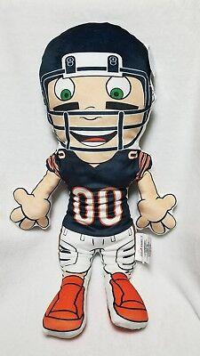 Chicago Bears NFL Player Full Body Cloud Pillow Pals, New With (Chicago Bears Body Pillow)