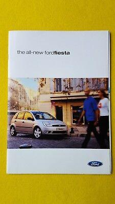 2019 Ford Fiesta Color Brochure Catalog Prospekt