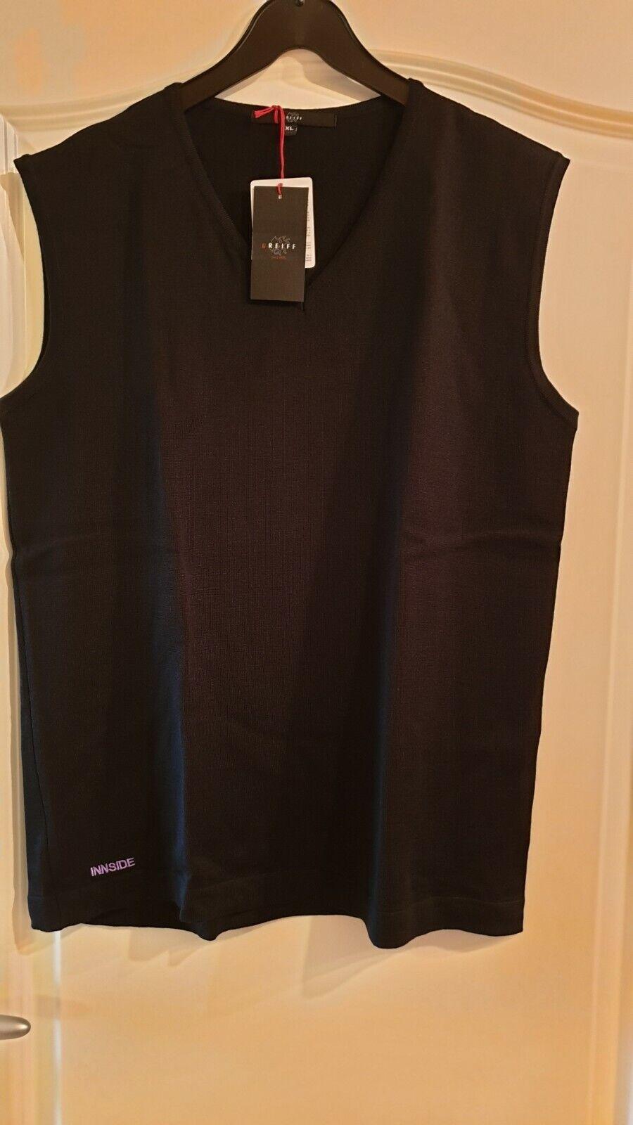 NEU Strick Damen - Pullunder von Greiff Regular fit in schwarz Nr. 6051 in Gr.XL