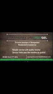Landscapping Services,Reparation Renovation General
