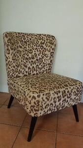 Leopard print occasional chair Daisy Hill Logan Area Preview