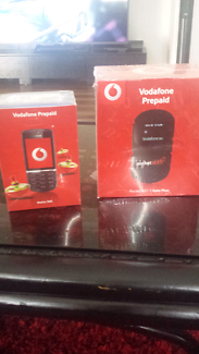 Vodafone prepaid wifi and mobile phone