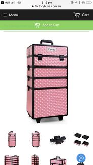 Wanted: 7 in 1 lockable make-up case/travel case