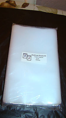 100 Clear Plastic Outer Sleeves 5