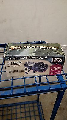 Fimco Diaphragm Pump 12 Volt 2.1 Gpm Max.
