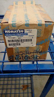 Komatsu Bolt 17a-71-12451 Box Of 5