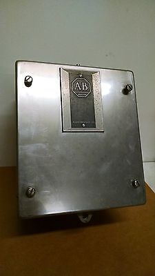 Allen Bradley Wall Mount Stainless Steel Enclosure 9 X 8 X 5 E1