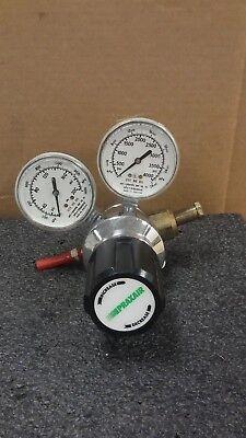 Praxair 2123301-346 Pressure Regulator With Pressure Gauges