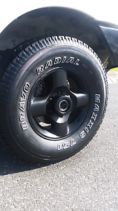 Maxxis 4x4 tyres and rims Pakenham Cardinia Area Preview