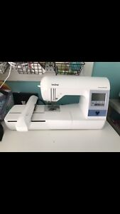 Brother PE780D embroidery machine
