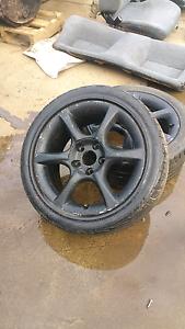 R34gtt wheels and tyres Tweed Heads Tweed Heads Area Preview
