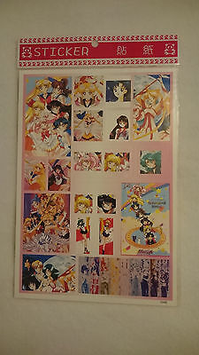 Sailor Moon Sticker (Bogen, 15 Sticker)