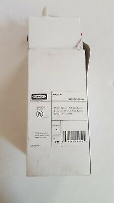 Hubbell Motion Sensor Wall Switch Decorator Series White Push Button