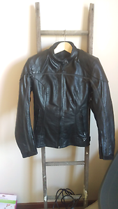 Women's Leather Motorbike Riding Jacket Jamisontown Penrith Area Preview