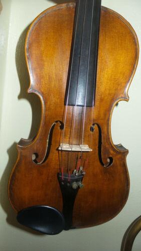 Vintage Fullsize Violin, German Made Strad Model w/case