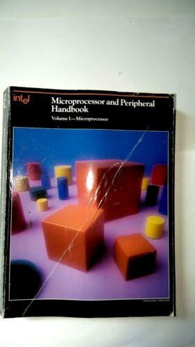 Intel Microprocessor and Peripherals Databooks  Vol 1 & 2  1987