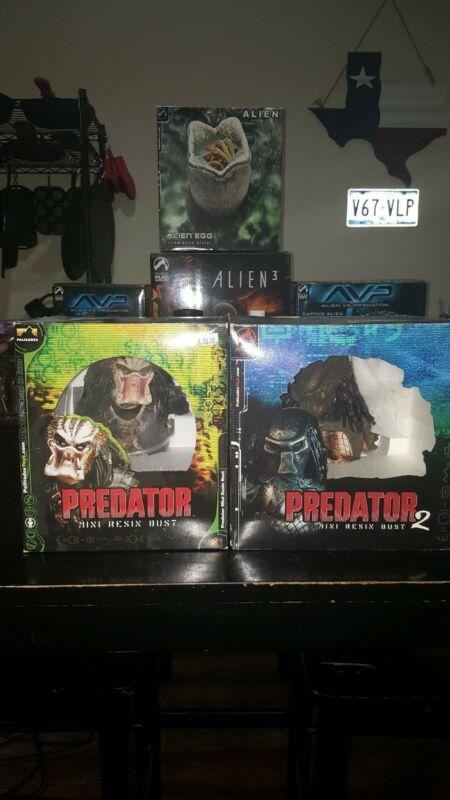 Palisades Predator And Predator 2 Mini Busts