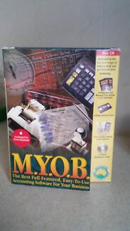 Myob version 6 for power Mac