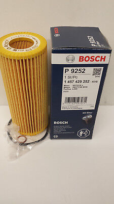 BMW E60 E61 530D 2993cc Oil Filter Genuine Bosch  2003-10