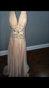 Evening gown worn once.