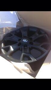 Toyota Matt black 18inch wheels rims alloys Annerley Brisbane South West Preview