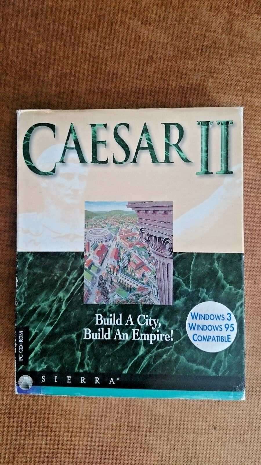 Caesar II (PC: DOS/ Windows, 1995) - Big Box Edition