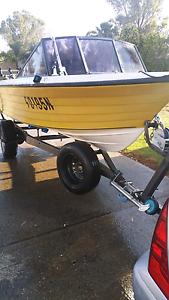 15ft falcon fibro glass boat reg 10 2017 Blacktown Blacktown Area Preview