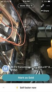 PRICE DROP !!!!!1987 Ford Thunderbird Turbo Coupe differential