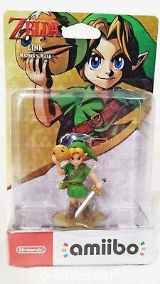 The Legend of Zelda - Link Majora's Mask Amiibo Nintendo Switch 3DS