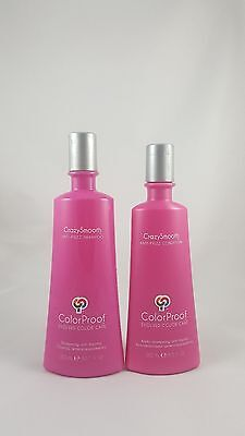 ColorProof CrazySmooth Crazy Smooth Anti Frizz Shampoo 10.1 & Condition 8.5