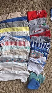 Huge Box Of 0-3M Winter Baby Boy Clothes